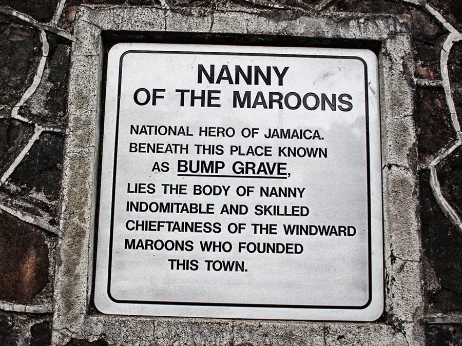 Queen Nanny's final resting place – Bump Grave -  in Moore Town, Jamaica Courtesy of Roy Anderson