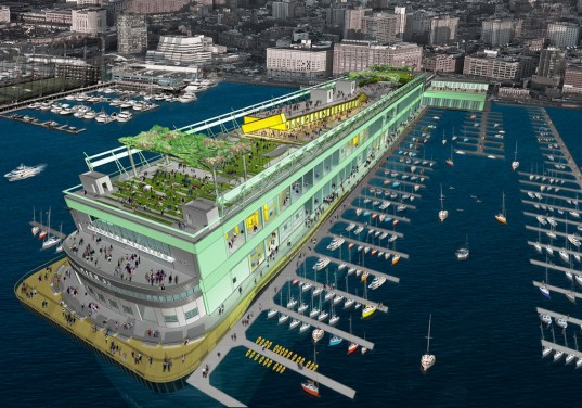 Massive Superpier Shipping Container Complex Coming To Nyc