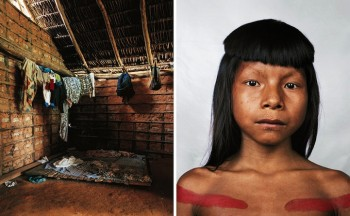 Ahkohxet, 8, Amazonia, Brazil Photo ©  James Mollison