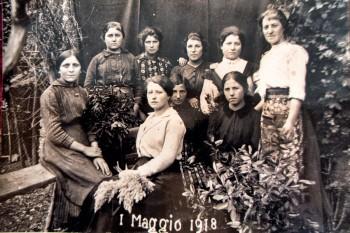 Italian family 1918