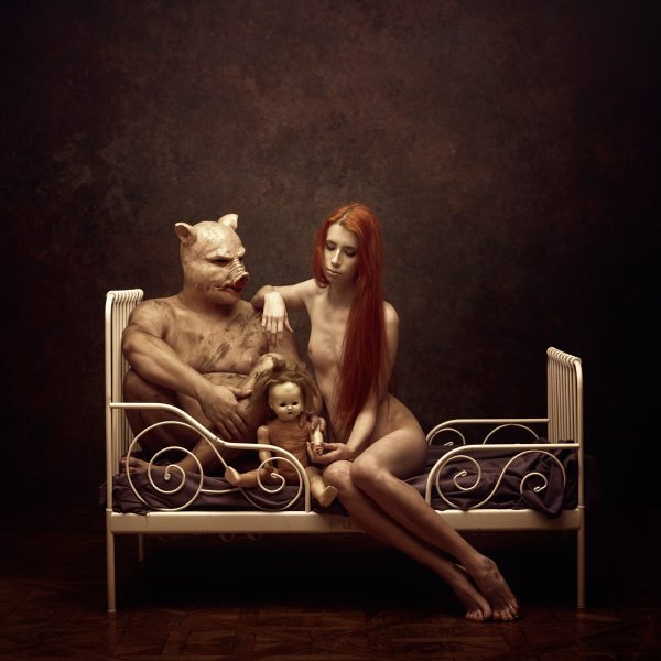beauty and the beast ©Peter Zelei