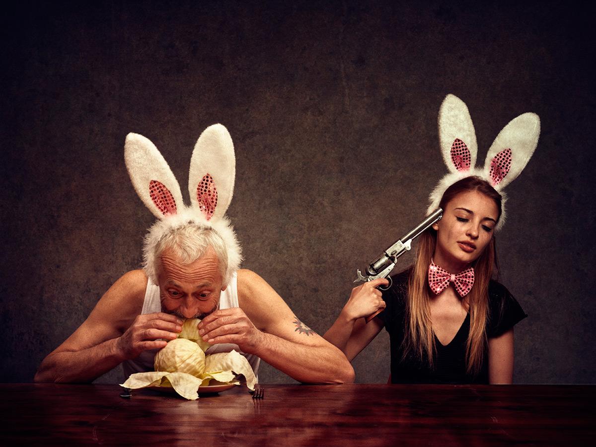 Mr rabbit Saturday night 10 15 ©Peter Zelei