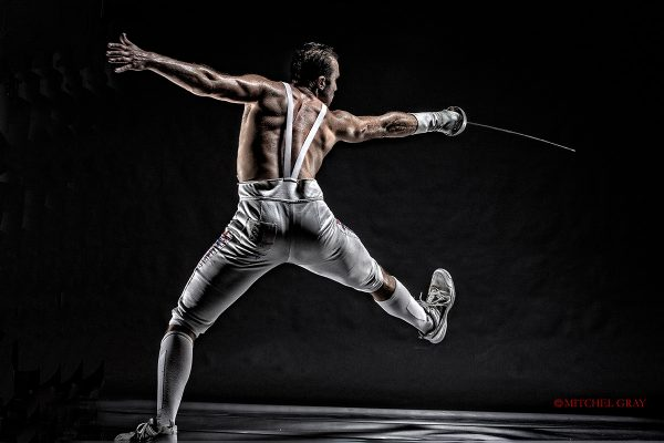 Soren Thomson - US Olympic Fencer - ©Mitchel Gray